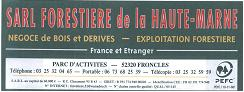 Sawing Services - Cut-to-size Sawing Other Company Type Companies  - SARL FORESTIERE DE LA HAUTE-MARNE