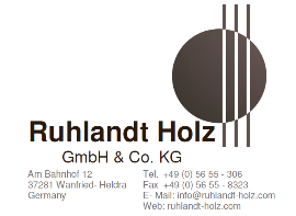 Steaming Services Companies Germany  - Ruhlandt Holz GmbH & CO. KG