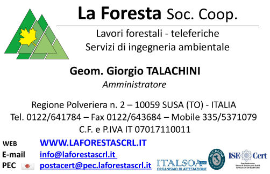 Mouldings ISO (9000 Or 14001) Companies  - La Foresta Soc. Coop.