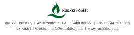 Firewood CE Manufacturer, Producer Companies  - Ruukki Forest Oy