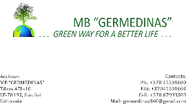 Architects Other Certification Trading Company, Importer, Exporter Companies  - MB Germedinas