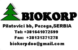 Wood Companies From Serbia  - BIOKORP d.o.o.