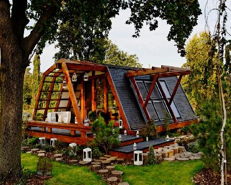 Soleta zeroenergy srl wooden houses chalets manufacturers - Credence originale pas chere ...